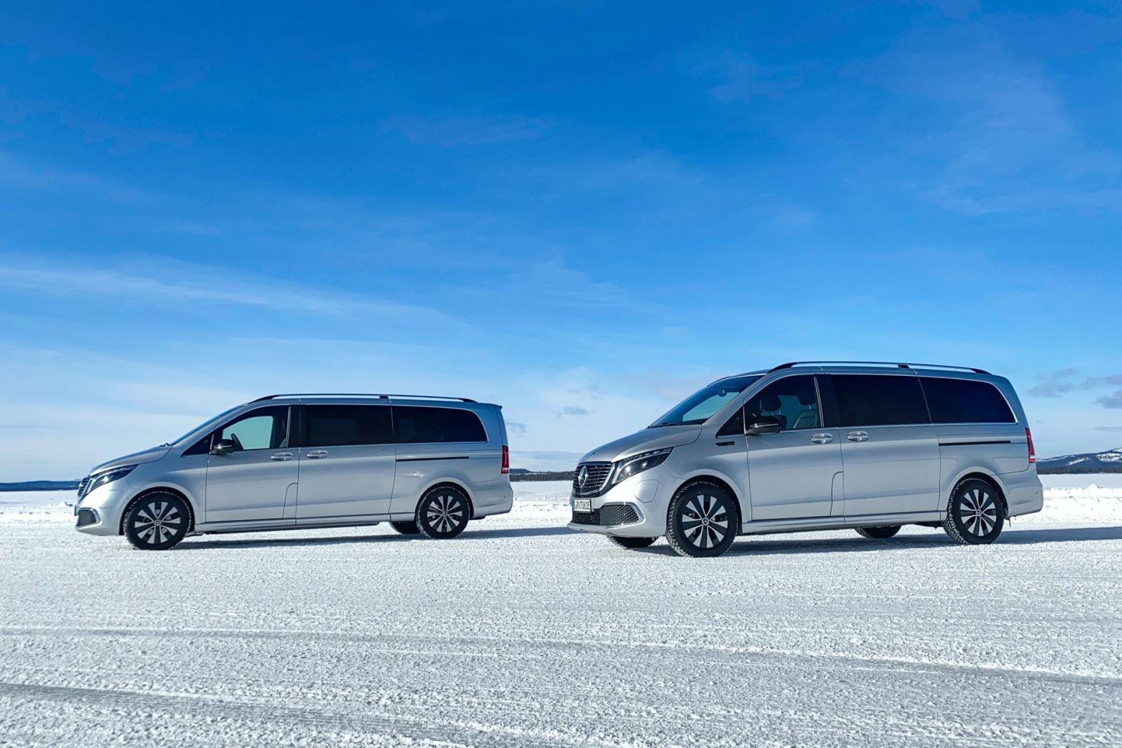 Mercedes EQV Kış Testlerini Tamamladı, Bu Yaz Çıkacak