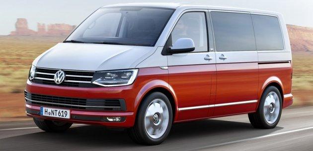 Yeni VW Transpoter Tasarım: