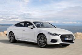 Yeni 2018 Audi A7 dijital çizim ve casus fotoğraflar