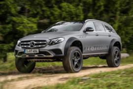 Mercedes E-Serisi All Terrain 4x4² resim galerisi