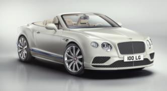 Bentley Continental GT Convertible Galene Edition Resim Galerisi