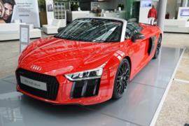 Audi R8 Spyder V10 Plus resim galerisi