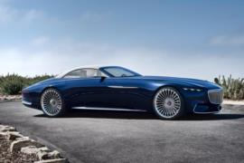 Vision Mercedes-Maybach 6 Cabriolet resim galerisi