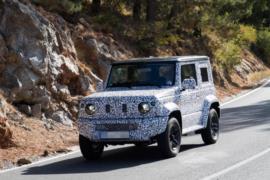 2019 Suzuki Jimny resim galerisi