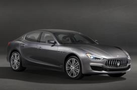 2018 Maserati Ghibli resim galerisi