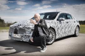 Yeni 2018 Mercedes A-Serisi resim galerisi