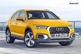 2018 Audi Q3 SUV resim galerisi