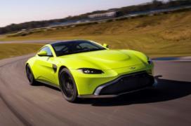 2018 Aston Martin Vantage resim galerisi (22.11.2017)