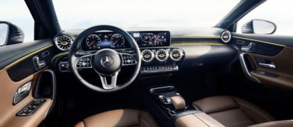 2018 Mercedes A Serisi İç Mekan Resimleri