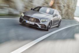 2018 Mercedes-Benz CLS resim galerisi (13.12.2017)