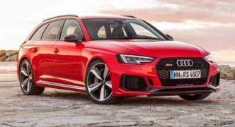 2018 Audi RS4 Avant resim galerisi (18.12.2017)