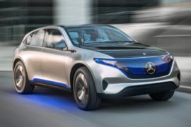 Mercedes EQC elektrikli SUV resim galerisi (19.01.2018)