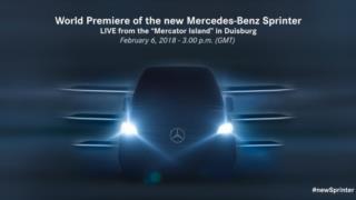 2019 Mercedes-Benz Sprinter resim galerisi (31.01.2018)