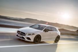 Yeni kasa 2018 Mercedes A Serisi Resim Galerisi