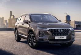 2019 Hyundai Santa Fe resim galerisi