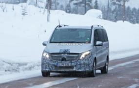 Makyajlı Mercedes-Benz V-Serisi resim galerisi (21.02.2018)