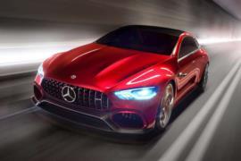 2018 Mercedes-AMG GT (dört kapılı) resim galerisi