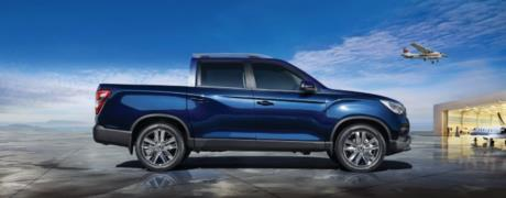 2019 SsangYong Musso resim galerisi (07.03.2018)