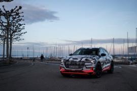 Audi E-Tron prototip resim galerisi (Cenevre) (08.03.2018)