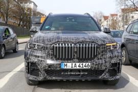 2019 BMW X7 resim galerisi (10.04.2018)