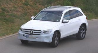 2019 Mercedes GLC resim galerisi (27.04.2018)