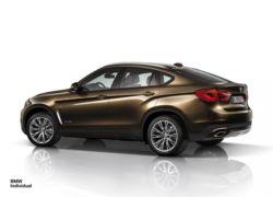 YENİ 2015 BMW X6 İNDİVİDUAL RESİM GALERİSİ