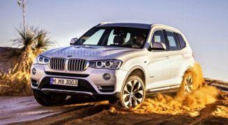 YENİ MAKYAJLI 2014 BMW X3 İLK RESİM GALERİSİ