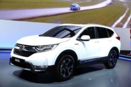 Yeni Honda CR-V hibrit resim galerisi (28.09.2018)