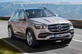 Yeni Mercedes GLE resim galerisi (03.10.2018)