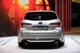 Toyota Corolla Hybrid resim galerisi (05.10.2018)