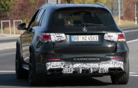 2020 Mercedes-AMG GLC 63 resim galerisi (16.10.2018)