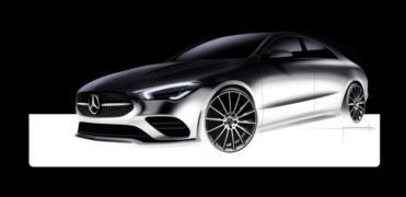 Yeni Mercedes CLA Coupe resim galerisi (15.01.2018)