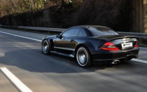 MERCEDES SL BLACK EDİTİON GALERİ