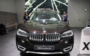 YENİ BMW X5 FRANKFURT LANSMAN RESİM GALERİSİ