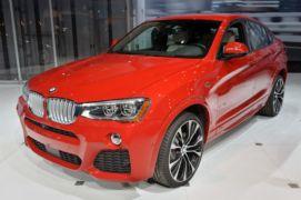 YENİ BMW X4 NEW YORK FUARI RESİM GALERİSİ