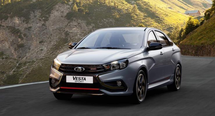 145 PS Lada Vesta Sport tanıtıldı