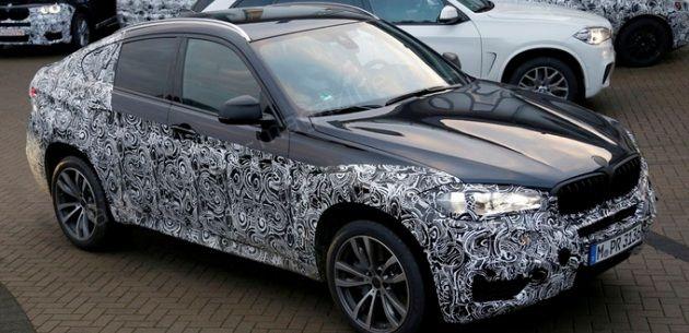 YENİ NESİL BMW X6 İLK KEZ GÖRÜNTÜLENDİ
