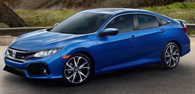 2018 Honda Civic Si Sedan & Coupe, 205HP 1.5L Turbo ile geliyor