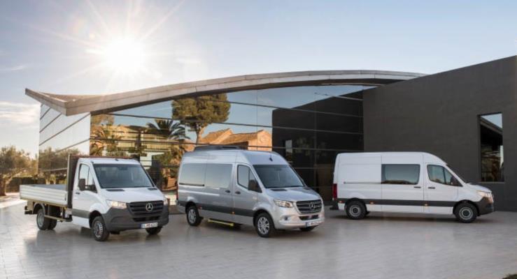 2018 Mercedes Sprinter yeni teknolojilerle geliyor