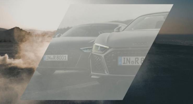 2019 Audi R8'in ön kısmı yeni teaser ile ortaya çıktı