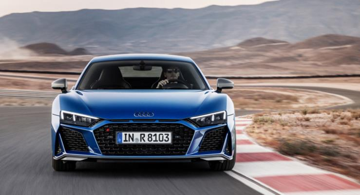 2019 Audi R8 sportif stil ve daha güçlü V10 motorlarla çıktı