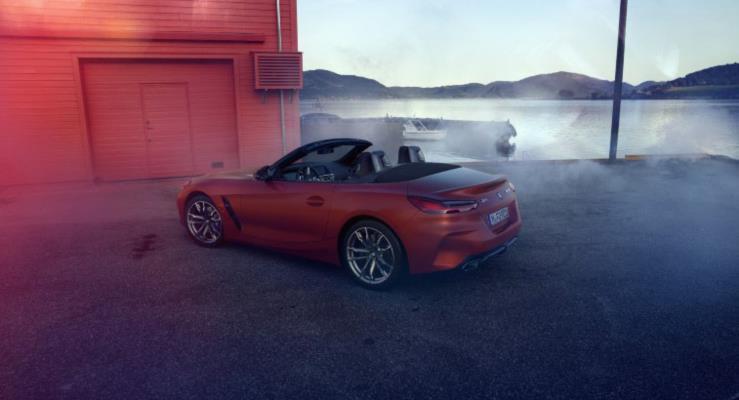2019 BMW Z4 M40i'den yeni görüntüler