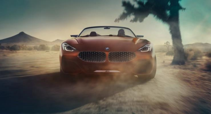 2019 BMW Z4'ten yeni görüntüler