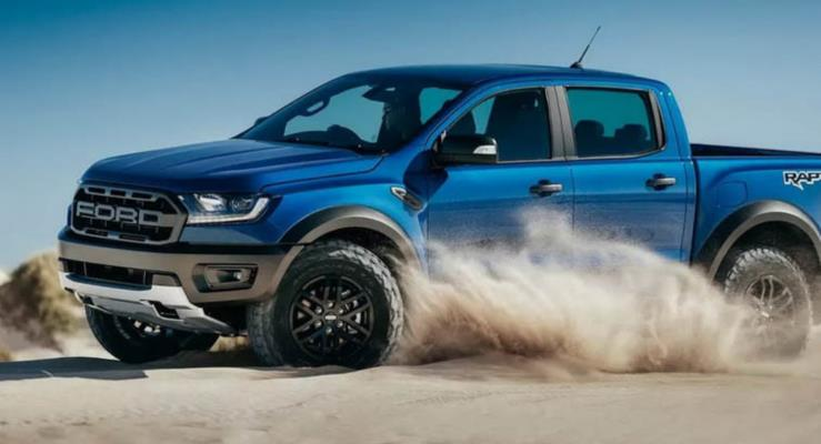 2019 Ford Ranger Raptor 210 hp turbodizel motorla tanıtıldı