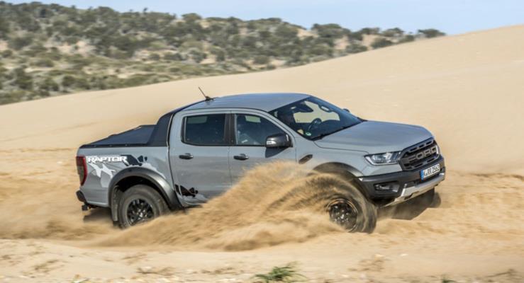 2019 Ford Ranger Raptor'dan 114 Fotoğraf