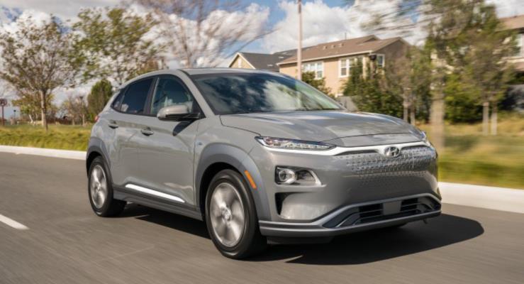 2019 Hyundai Kona Electric 415 km menzille geliyor