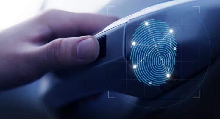 2019 Hyundai Santa Fe parmak izi sensörüyle gelen ilk üretim modeli olacak