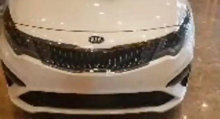 2019 Kia Optima (2018 Kia K5) dış cephesinden görüntüler