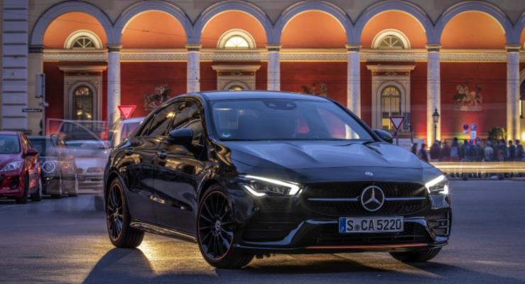 2019 Mercedes CLA Coupe'den Yeni Görüntüler
