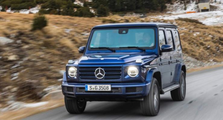 2019 Mercedes G350d Dizel güçlü, modern ve tutumlu